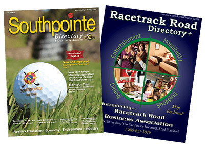 Racetrack Road and Southpointe Directory and Quarterly Reprt
