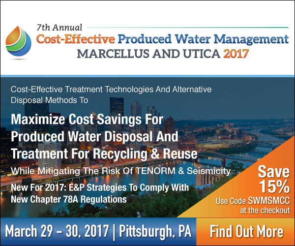 Cost-Effective Produced Water Management Conference