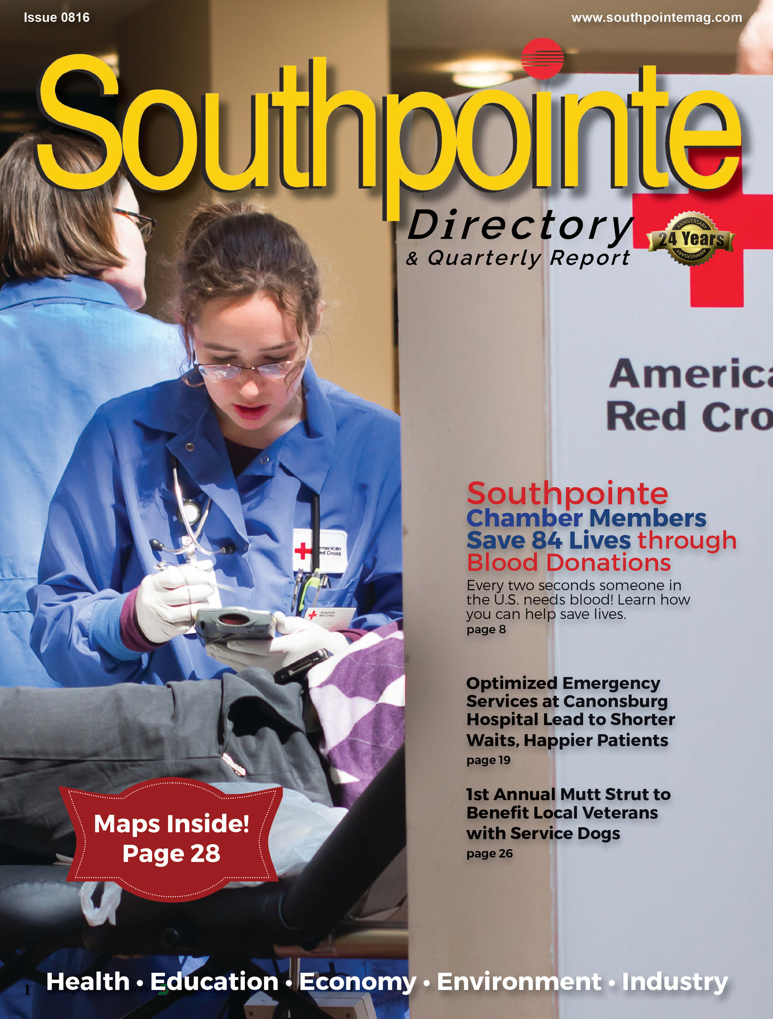 Southpointe Directory and Quarterly Report Summer 2016