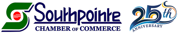 Southpointe Chamber 25 Year Anniversary Logo