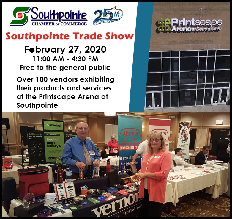 Southpointe Chamber Trade Show 2020