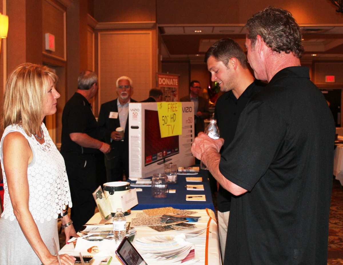 Vendor Display at a Southpointe Chamber of Commerce Trade Show